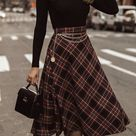 Here is a cozy and unique outfit that is pretty straightforward to drag off.