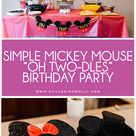 Amos's Mickey Mouse Birthday Party   Still Being Molly