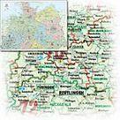 Bacher Orga Karte Norddeutschland Massstab 1 500 000 Papierkarte Gerollt Karte Im Sinne Von Landkarte Buch In 2020 Karte Deutschland Papierkarten Und Karte Norddeutschland