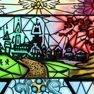 Stained Glass zelda by Teal Lorca on DeviantArt