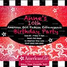 American Girl Birthday