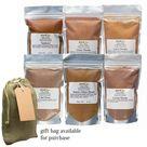 Indian Masala Deluxe Bundle 6-Pack: Tandoori, Chaat, Curry, Chai, Tikka & Garam