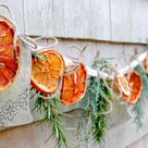 Make It: A Simple Citrus and Herb Garland