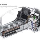 2013 Audi R8 e tron High voltage Battery System Integrated Into Body Structure   Technical Drawing