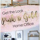 pink office rug