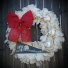 Baseball Wreaths
