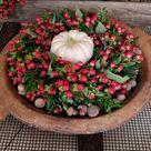 Beerenkranz selberbinden! Perfekt für den Herbst. Alle Materialien findet ihr im Mrs Greenery Shop