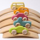 Wooden Cars - Best Toys for Toddlers