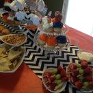 Orange Baby Showers