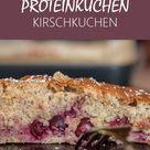 Fitness Rezept - gesunder Protein-Kirschkuchen ohne Zucker - LisasBunteWelt