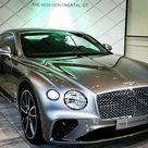 2019 Bentley Continental GT Silber