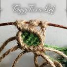 Macrame Leaf step by step for a tree of life wall hanging | Tied by Tiggy