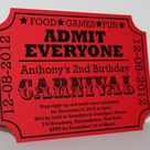 Carnival Invitations