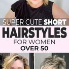Super Cute Short Hairstyles for Women Over 50 • OhMeOhMy Blog