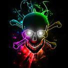 Glowing Skull by Chemikal GraphiX on DeviantArt