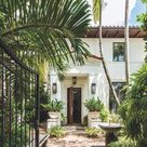 Tuscan Details Abound In A Worldly South Florida Villa - Luxe Interiors + Design