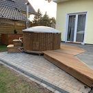 Erfahrungsbericht: Badefass aus Holz mit Ofen – Fotos, Infos, Kosten der Badetonne