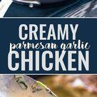 Creamy Parmesan Garlic Chicken Recipe - CUCINA DE YUNG