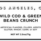 Wild Cod and Green Bean Crunch