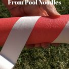 How to Make 3 Holiday DIYs From Pool Noodles