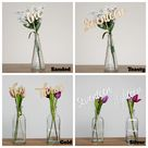 Wooden Set of 1 to 20 Table Numbers for Weddings - Modern Script Wedding Table Decorations - Rustic Table Numbers