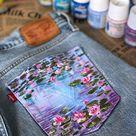 Van Gogh Starry Night denim jacket