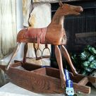 Wooden Rocking Horses