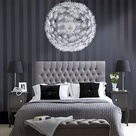 Striped Accent Walls