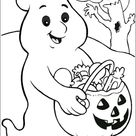 99 Neu Halloween Ausmalbilder Geister  Bild