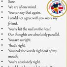 17 Saying I Agree Phrases in English - English Grammar Here