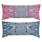 Cushion DKD Home Decor 2 pcs 80 x 35 cm