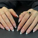 27 Beautiful French Tip Nails For 2021 - The Glossychic