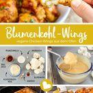Vegane Chicken-Wings: Blumenkohl-Wings aus dem Backofen