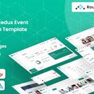 Ventic — React Redux Event Ticketing Admin Template | Stylelib