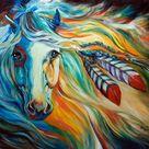 Indian Horse Tattoo