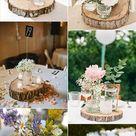 DIY: Wedding Aisle Tree Stumps & Side-Table Tutorial »