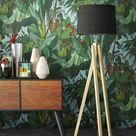 Newroom Vliestapete, Blumentapete Grün Palmen Wallpaper Floral Blumen Tapete Dschungel Pflanzen Wohnzimmer Schlafzimmer Büro Flur online kaufen | OTTO