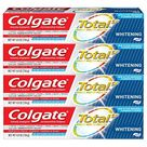 Colgate Total Whitening Toothpaste   4 Pack Whitening Toothpaste / 4.8 Ounce Pack of 4