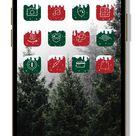 Christmas app Icon   iphone wallpaper aesthetic designs ios