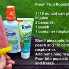 Healthy Fruit Popsicles