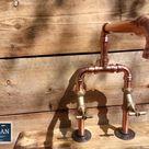 Kupferrohr-Schwenkmischer-Wasserhahnhähne - breite Reichweite