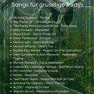 Halloween Musik: Gruselige Lieder für Party als DJ Playliste