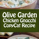 Olive Garden Chicken Gnocchi Soup - Recipe and Video