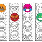 Cute Dinosaur Bookmarks - PDF Coloring Page