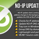 No-IP DNS Update Client + Source Code