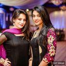 Neelam Muneer with sarah khan in black dress