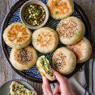 Vegan Crispy Bottom Veggie Buns
