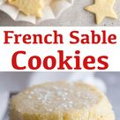 French Sable Cookies