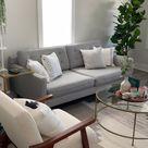 Modern Living Room-Neutral Decor