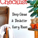 Clean House Checklist- 2021 edition -March 1st YEAR LONG THOROUGH DECLUTTER SERIES